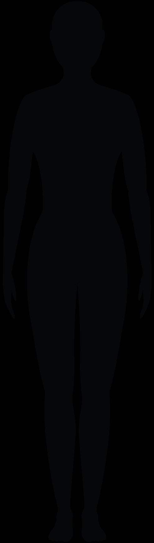 Illustrated human figure