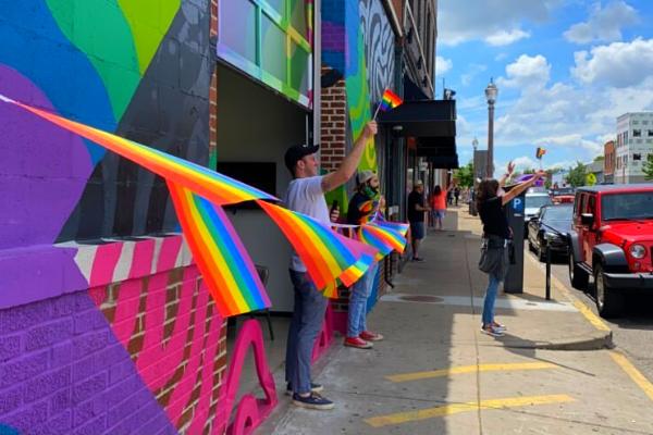 Pride Parade at SWADE Grove